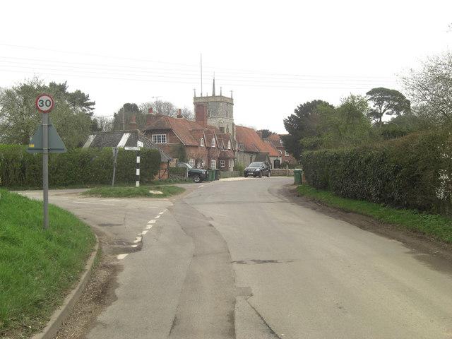 Bucklebury_Village